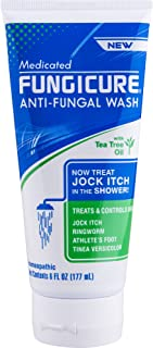 FungiCure Anti-Fungal Medicated Wash, 6 Ounce
