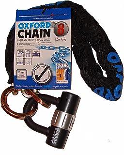 Moto Oxford Pare-Chocs C/âble Serrure Transparent 600MM X 6mm Chex