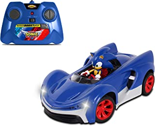 NKOK RC Sonic SSAS R2 Car with Lights, Blue (614)