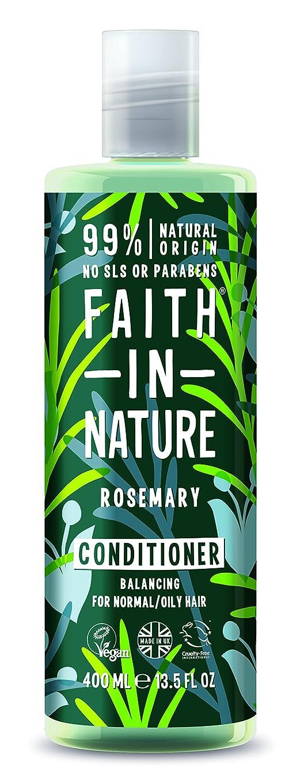ピットパール比類なきFaith In Nature Rosemary Conditioner For Normal To Oily Hair 400ml