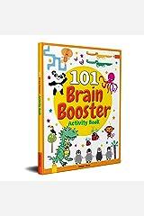 101 Brain Booster Activity Book: Fun Activity Book For Children Paperback