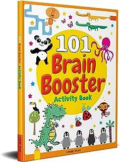 101 Brain Booster Activity Book : Fun Activity Book For Children
