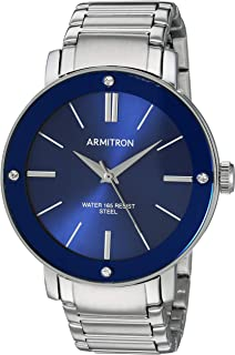 Armitron Men's Swarovski Crystal Accented Bracelet Watch, 20/5419