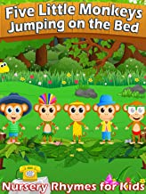 Five Little Monkeys Jumping on the Bed - Nursery Rhymes for Kids