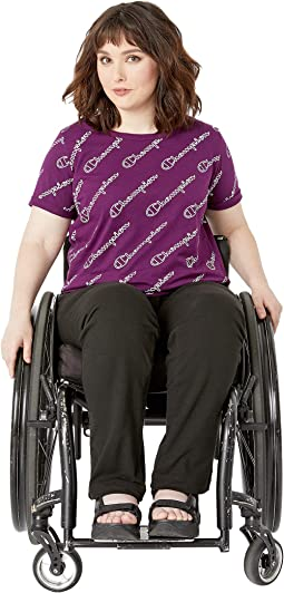 Champion Outline Script/Venetian Purple