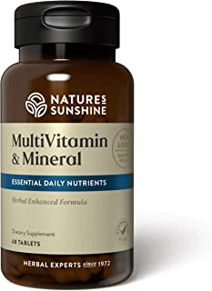 Nature's Sunshine Multiple Vitamins and Minerals 60 Tablets