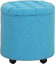 JGW Furniture Ottoman, Blue
