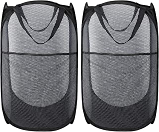 collapsible mesh laundry basket