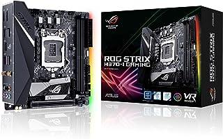ASUS ROG Strix H370-I Gaming Scheda Madre Intel H370 Mini-ITX con Illuminazione LED Aura Sync RGB, Intel 802.11ac Wi-Fi, P...