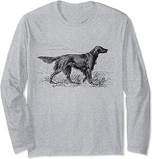 Irish Setter Dog vintage Dog Lover owner gift dog dad mom Long Sleeve T-Shirt