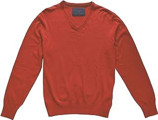 Tailor /& Son Herren Pullover Strickpullover V-Ausschnitt Grau M L XL 3XL