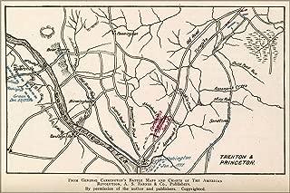 20x30 Poster; Revolutionary War Map Of Trenton & Princeton