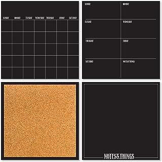 WallPops WPE1875 Dry Erase Organisation Kit-Black