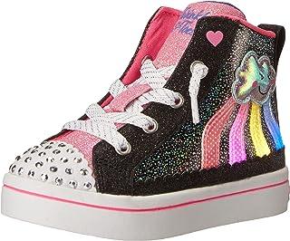 Skechers Unisex-Child TWI-Lites 2.0-Seeing Rainbows Sneaker
