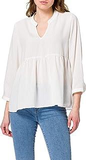 ONLY ONLBLOOM 3/4 TOP NOOS WVN dames bloes