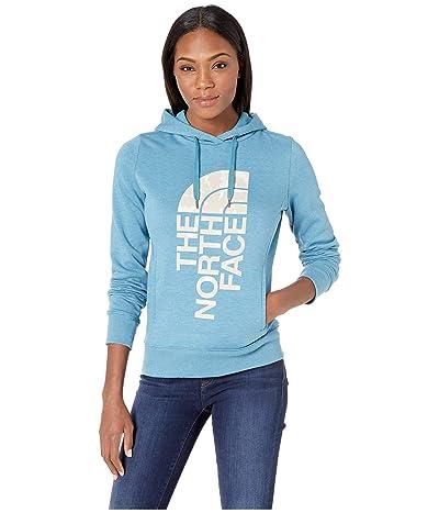 The North Face Trivert Pullover Hoodie (Storm Blue Heather/Peyote Beige Multi) Women