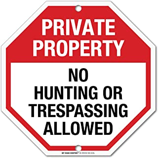 Best no hunting signs metal Reviews
