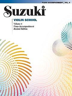 Suzuki Violin School 4 - Piano Acc. (Revised)