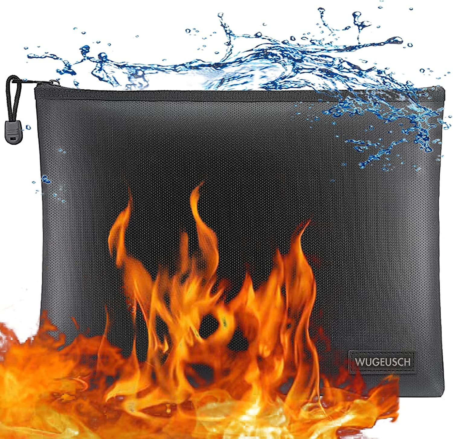 Fireproof Document Bag Waterproof Money Online limited product and Max 77% OFF Safe