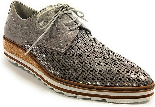 Dorking - 7152.ma - Chaussures De Ville Derbies - Femme - Semelle Amovible   Non - gris