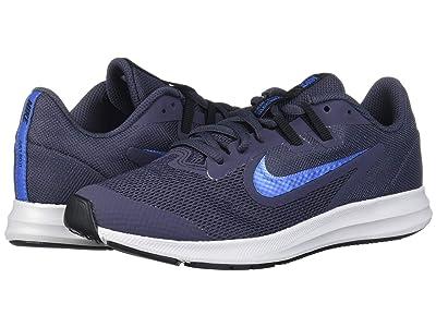 Nike Kids Downshifter 9 (Big Kid) (Gridiron/Mountain Blue/Black) Boys Shoes