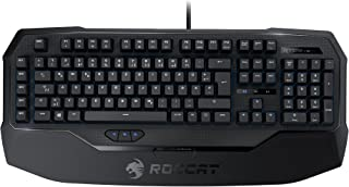 ROCCAT RYOS MK Advanced Mechanical Gaming Keyboard, Black CHERRY MX Key Switch