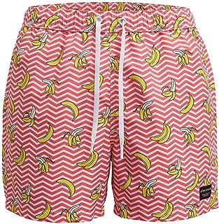 Blue Bjorn Borg Red Flag Beach-to-Bar Tailored Men/'s Swim Shorts