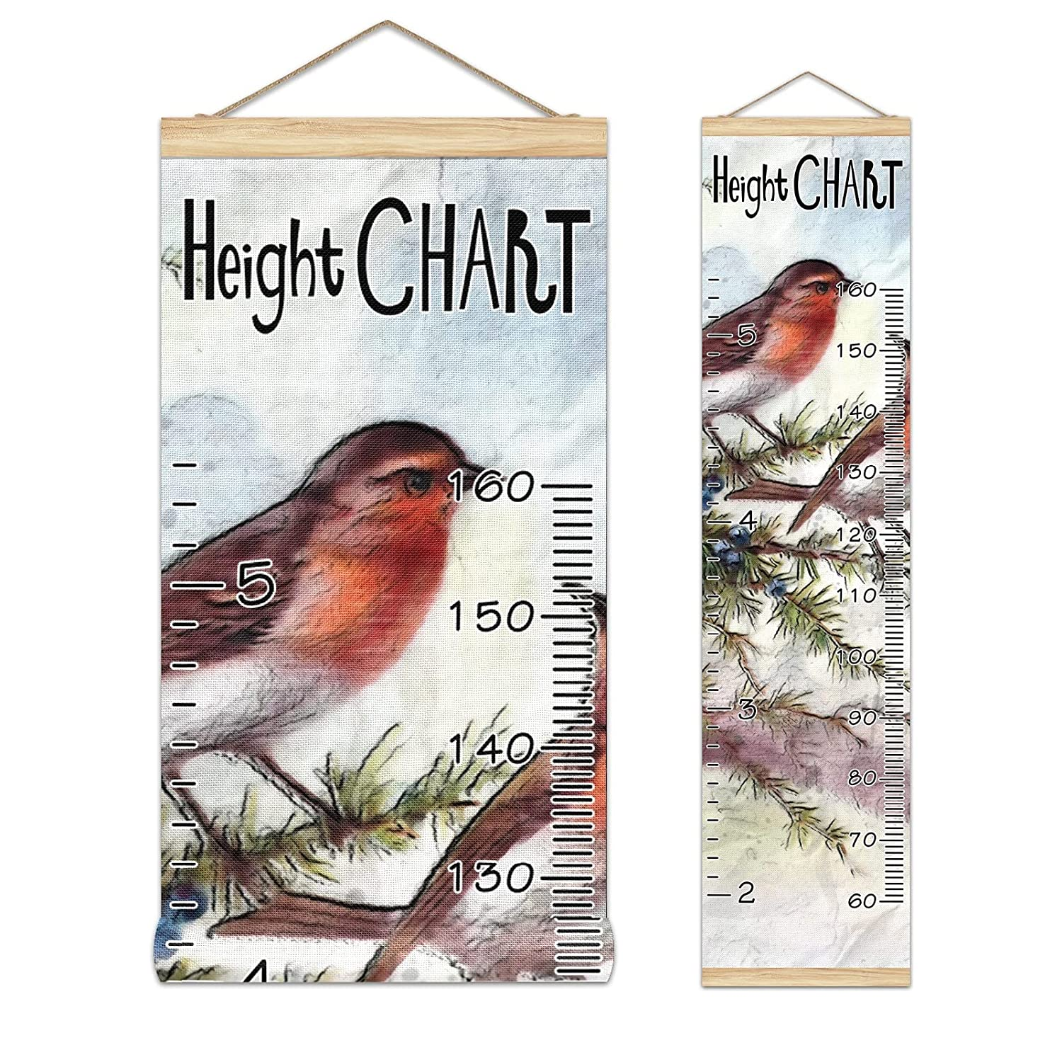 Kids Fixed price for sale Growth Chart Ruler for Wall Height Measure Max 67% OFF Wood Frame
