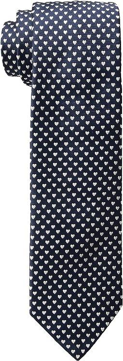 Heart Print Tie