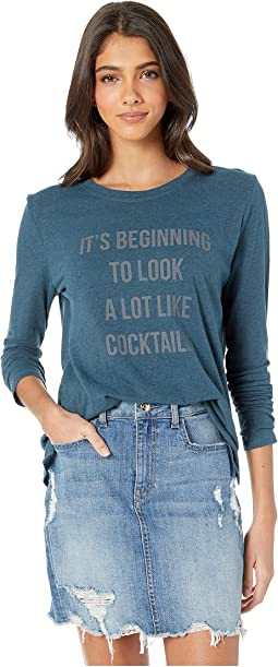 "Suzanne ""Cocktails"" Long Sleeve"