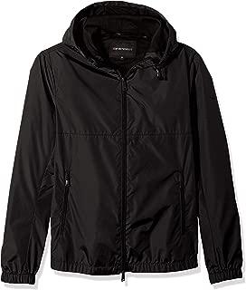 Emporio Armani Men's Zip Up Poly Sweatshirt