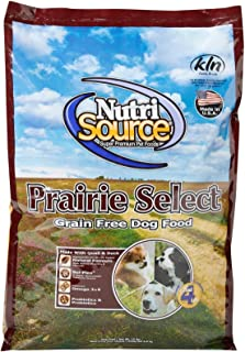 Nutrisource Grain Free Prairie Select With Quail Dog Food 15Lb