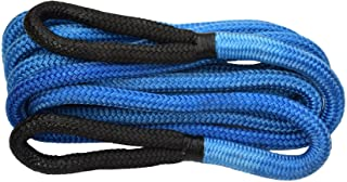 """1""""×30ft Kinetic Energy Rope Truck SUV Tow Rope,Recovery Rope 30000lbs,Towing Rope (Blue)"""