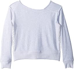 Splendid Littles - Sweatshirt w/ Lace (Big Kids)