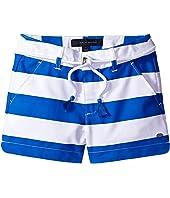 Tommy Hilfiger Kids - Rugby Stripe Shorts with Belt (Little Kids/Big Kids)