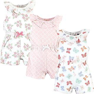 Hudson Baby Kombinezon dziecięcy Uniseks - niemowlęta Hudson Baby Unisex Baby Cotton Rompers, Butterflies