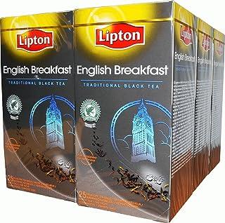 Lipton English Breakfast 6 x 25 Aromaschutz Teebeutel Einzeln Verpackt