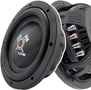 $119 » Gravity Warzone WZ12D4 12 Inch 1500 Watt Max Power Elite Car Audio Shallow Subwoofer 4 Ohm DVC - Dual Voice Coil Stereo Co...