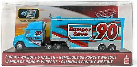 Disney Pixar Cars Ponchy Wipeout's Hauler Bumper Save 90