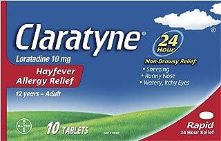 Claratyne Claratyne Hayfever Allergy Relief Antihistamine Tablets 10 p, 10 grams