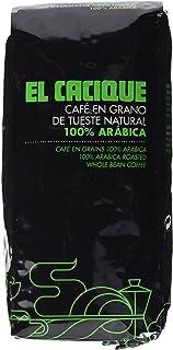 Cacique, Café de grano tostado (Arábica) - 1 kg.