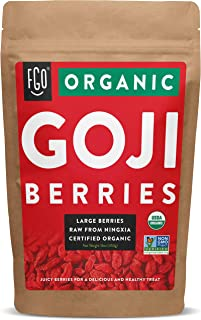 Sponsored Ad - Organic Goji Berries | Large & Chewy | Every Batch Lab-Tested | 16oz Resealable Kraft Bag | 100% Raw From N...