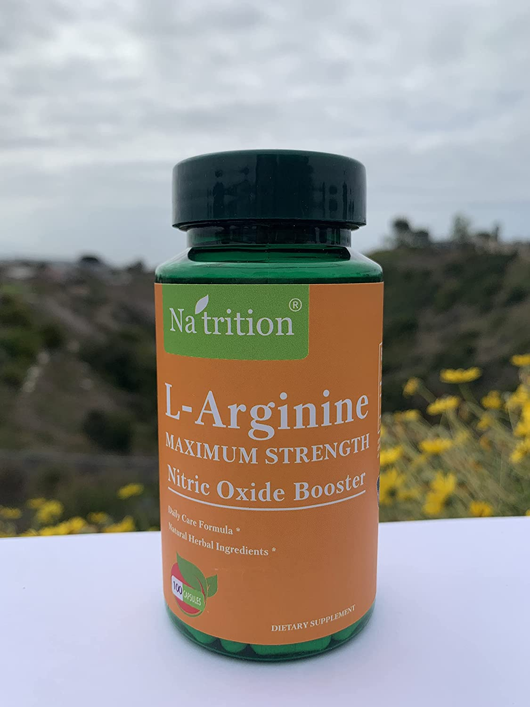 Na'trition L-arginine 1000 Mg Best Cheap sale Arginine Acid sale HCL Prom Amino