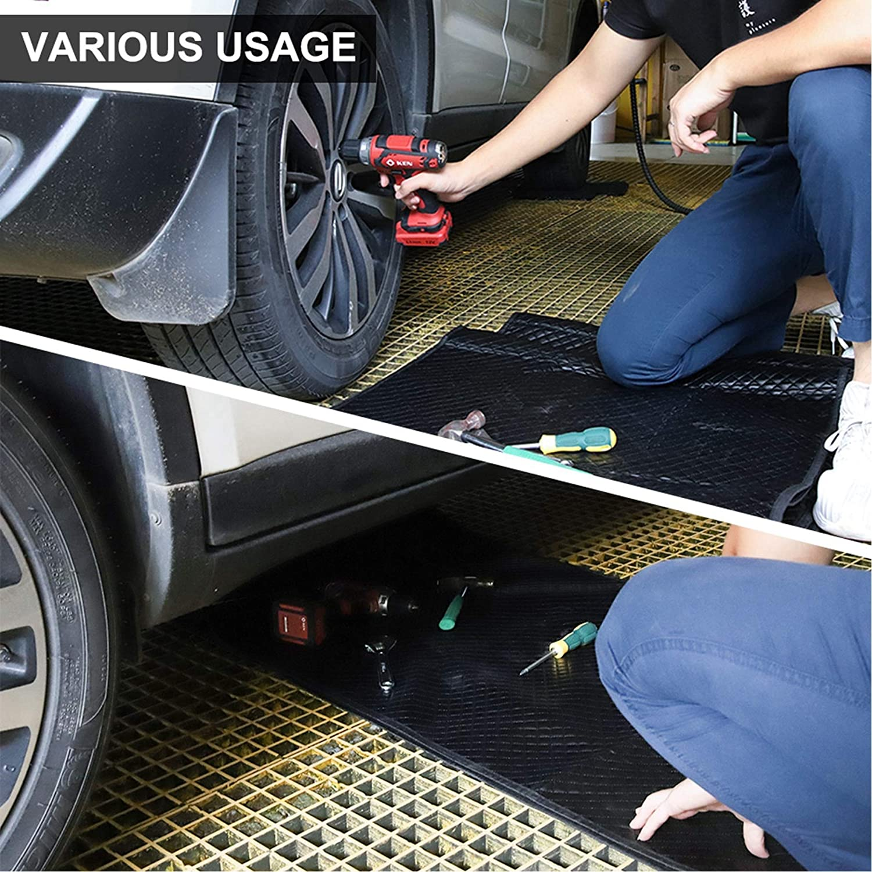 Car Repairing Mat Home Repair Carpet Rug Auto Repairing Tools,Black Garage Shop Creepers Automotive Repair Creeper Pad