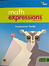 Math Expressions, Common Core, Assessment Guide BlackLine Master with Answer Key Grade 5, 9781328703675, 1328703673