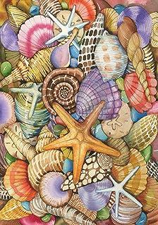 Toland Home Garden 119462 Shells of The Sea 12.5 x 18 Inch Decorative, Garden Flag (12.5