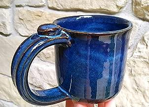 Ceramic Coffee Mug, Handmade Stoneware Pottery, Unique Cup