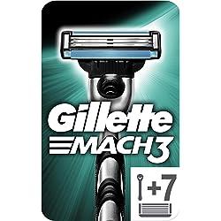 Gillette Mach3 Maquinilla de Afeitar (con 6 recambios)