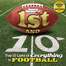 1st and 10 (Revised and Updated): Top 10 Lists of Everything in Football (Sports Illustrated Kids Top 10 Lists)
