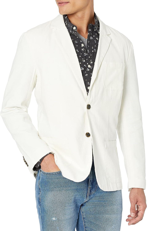 Goodthreads Men's Standard-Fit Linen Blazer